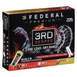 FEDERAL THIRD DEGREE 20 GA 3 1_1_7/16_OZ