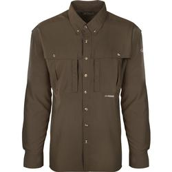 DRAKE FLYWEIGHT WINGSHOOTER L/S OLIVE