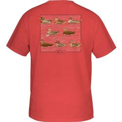 DRAKE DECOY COLLECTION S/S T DUSTY_RED