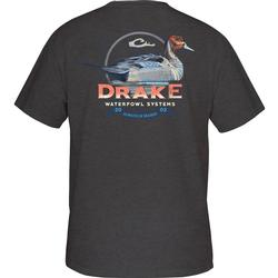 DRAKE PINTAIL S/S T CHARCOAL_HEA