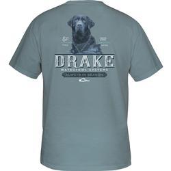 DRAKE LAB S/S T ICE_BLUE
