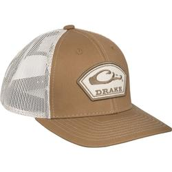DRAKE ARCH PATCH MESH CAP BROWN/PUTTY