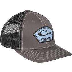 DRAKE ARCH PATCH MESH CAP CHARCOAL/BLACK