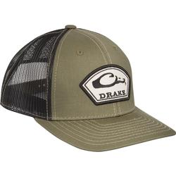 DRAKE ARCH PATCH MESH CAP LODEN/BLK