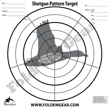 SHOTGUN PATTERNING TARGET PACK