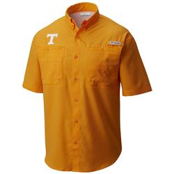 Columbia Men's Collegiate PFG Tamiami™ Short Sleeve Shirt UT_SOLARIZE