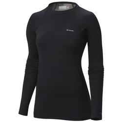 Columbia Women's Midweight Stretch Baselayer Long Sleeve Shirt BLACK